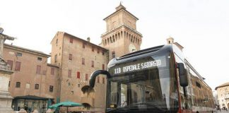 Bus a Ferrara (foto Tper)