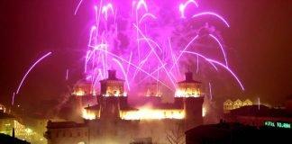 """""""incendio"""" del Castello Estense"""