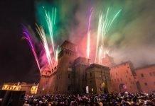 capodanno incendio castello ferrara