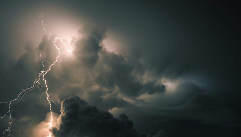 Allerta temporali ridimensionata: tempo instabile fino a sabato