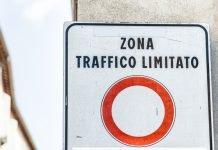 cartello zona traffico limitato