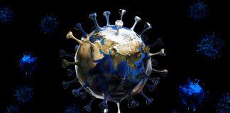 Virus illustration world
