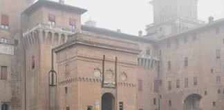 Piazza Castello a Ferrara