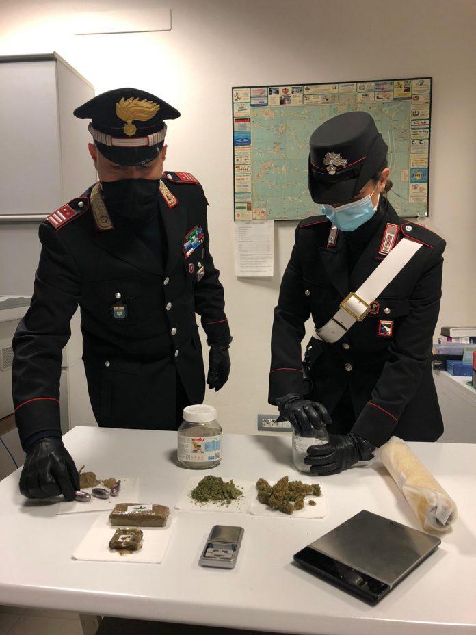 carabinieri sequestro marijuana
