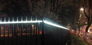 parco Toti illuminazione