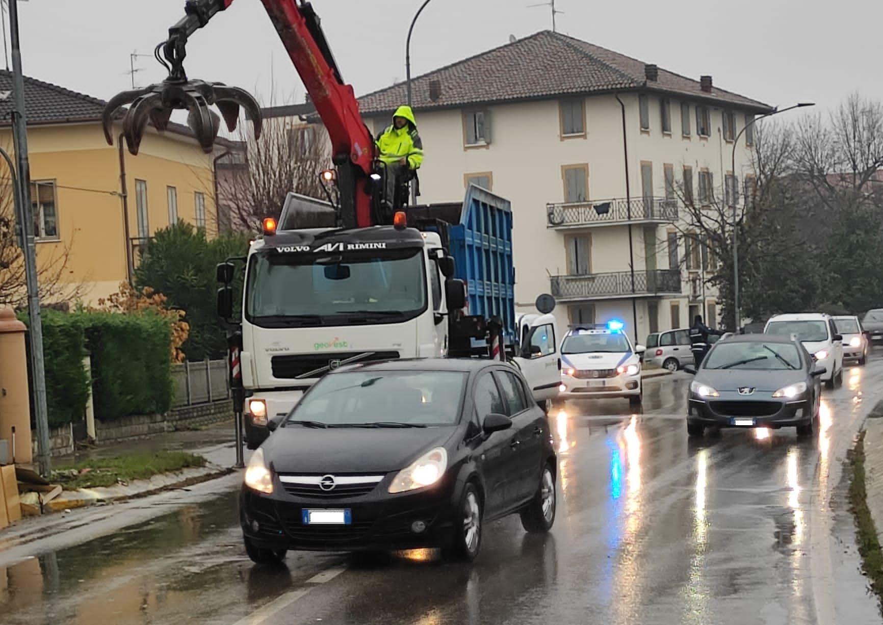 polferrara supporto mezzi operativi alluvione Modena