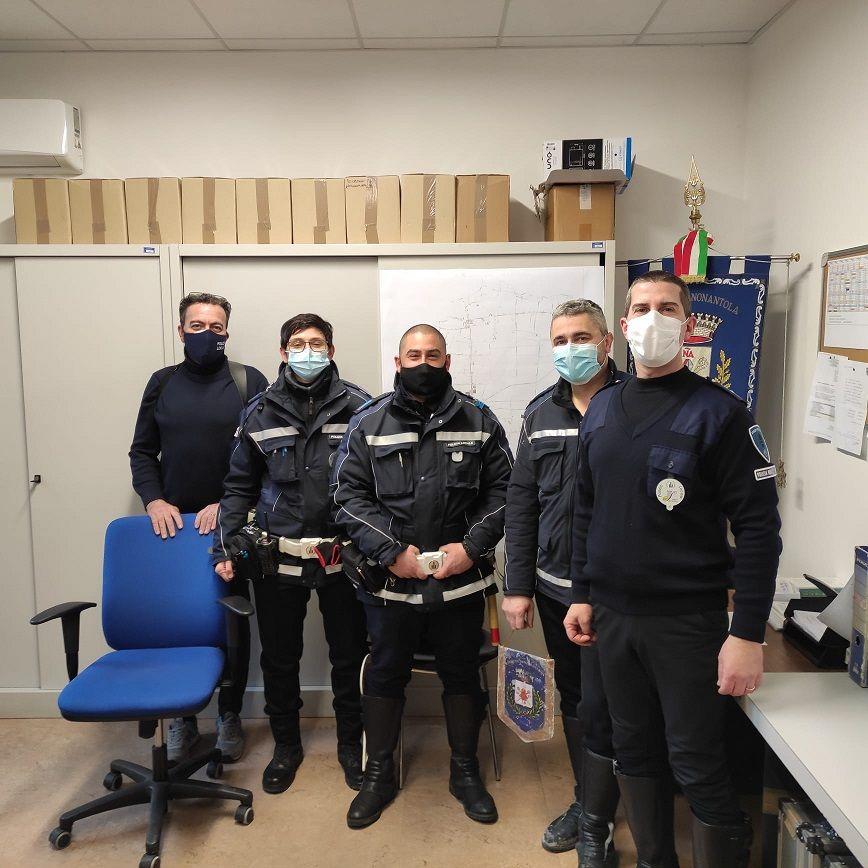 polizia Ferrara a Nonantola