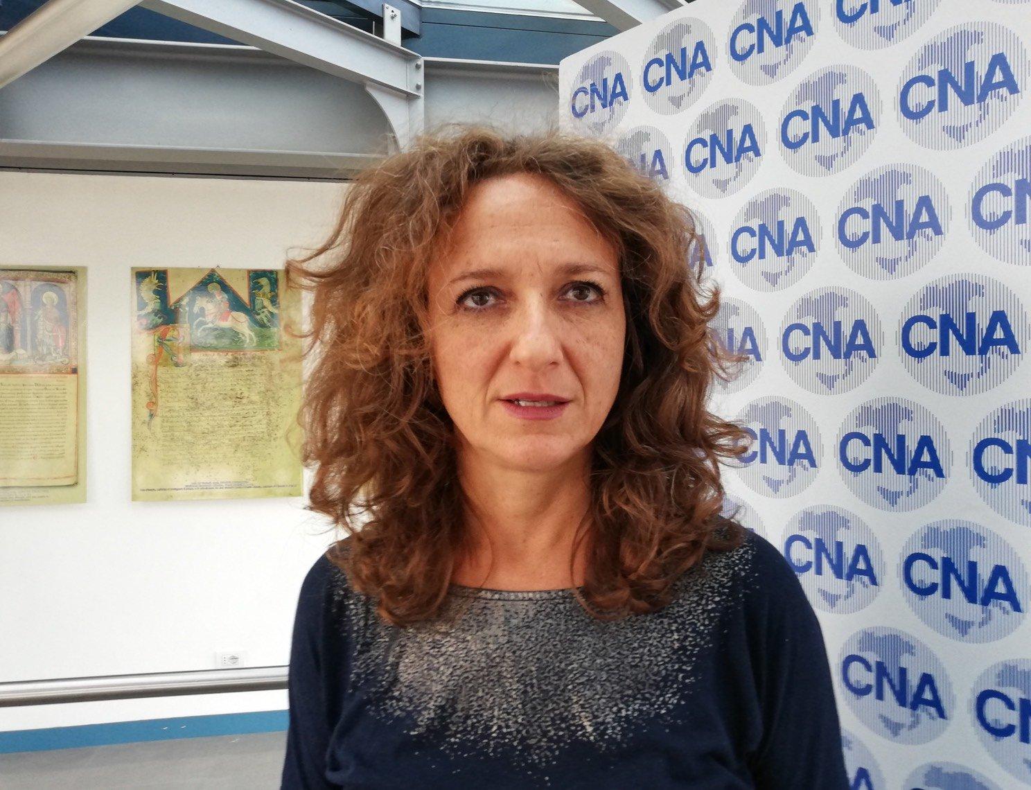 Linda Veronese, responsabile di Cna Turismo e Commercio e Cna Alimentare (foto Cna Ferrara)