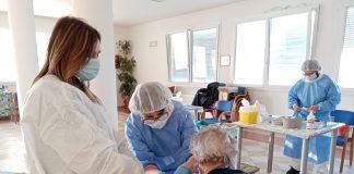 ospiti vaccinati nelle strutture CIDAS Ripagrande di Ferrara e Casa Generosa di Vigarano Mainarda