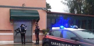 """I Carabinieri chiudono il bar """"Mezza Luna"""""""