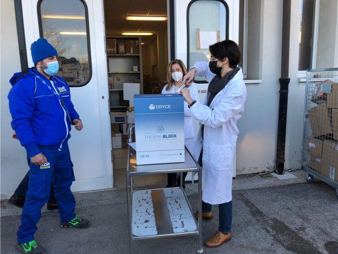 Consegna vaccino