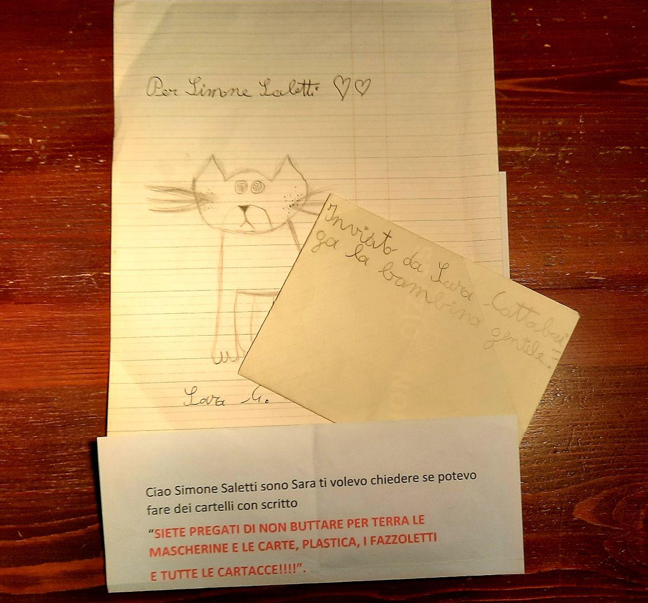 La lettera di Sara, studentessa delle elementari di Bondeno