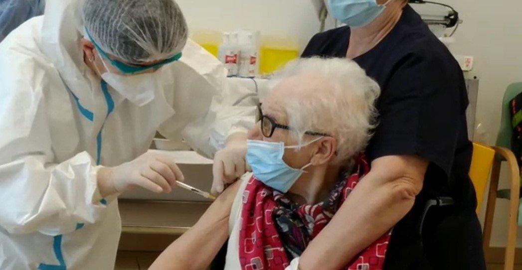 ospite vaccinata della struttura CIDAS Mantovani