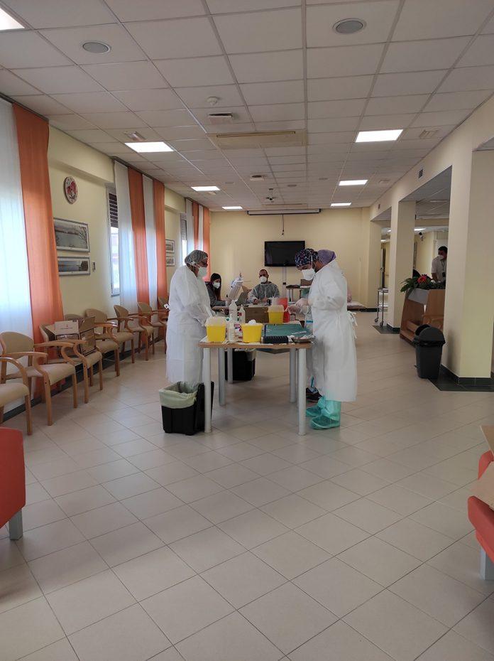 vaccinazioni alla Struttura per anziani Quisisana di Ostellato