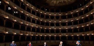 Registrazioni al Teatro Comunale di Ferrara
