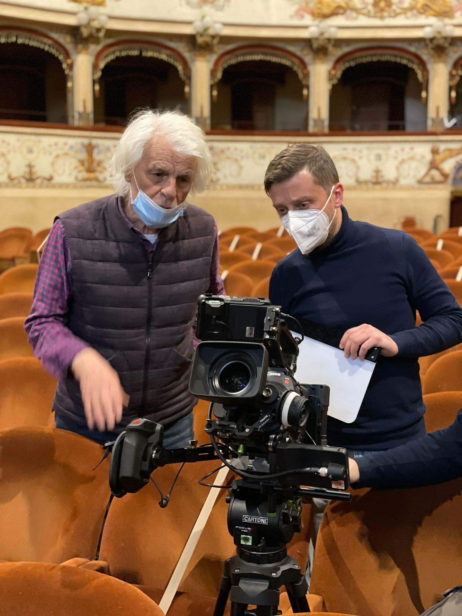 PASSIO CHRISTI. Michele Placido e Toni Trupia al Teatro Comunale di Ferrara