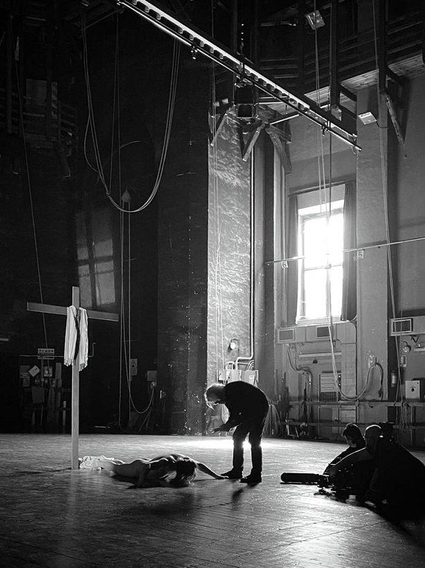 Placido in scena (foto Stefano Baraldi)