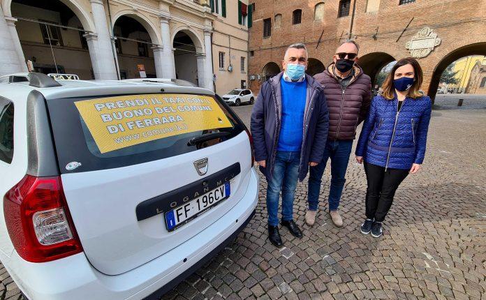 distribuzione buoni taxi (Comune di Ferrara)