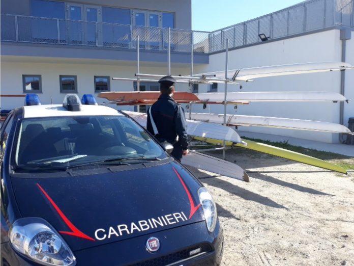 CC Ferrara tentato furto Canoa Club
