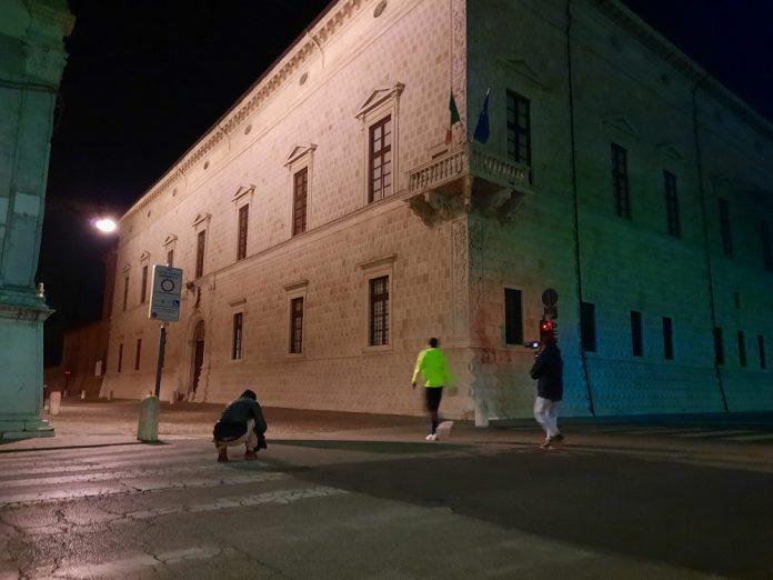 Riprese programma tv Ferrara di notte