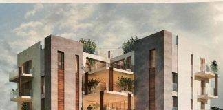 Il progetto delle abitazioni in viale Cavour