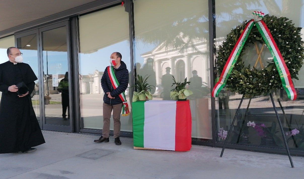 La prima Giornata nazionale in ricordo delle vittime del Covid celebrata a Copparo