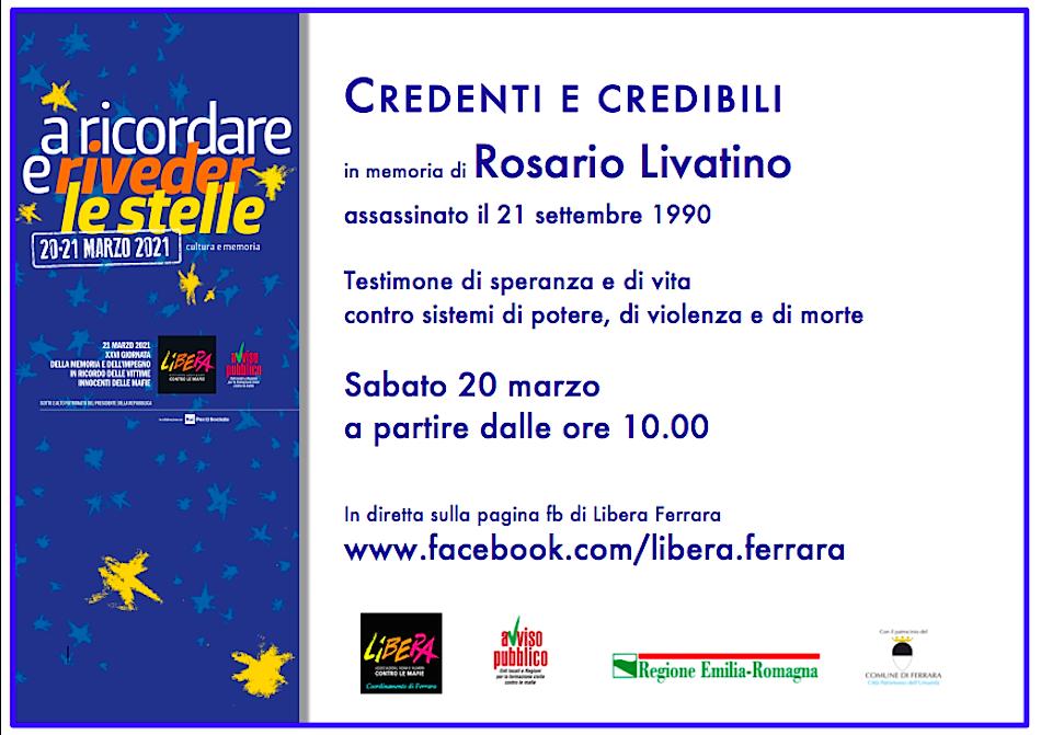 """evento online """"Credenti e credibili"""""""