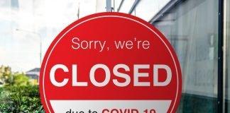 Cartello chiusura causa Covid-19 (foto di repertorio Shutterstock.com)