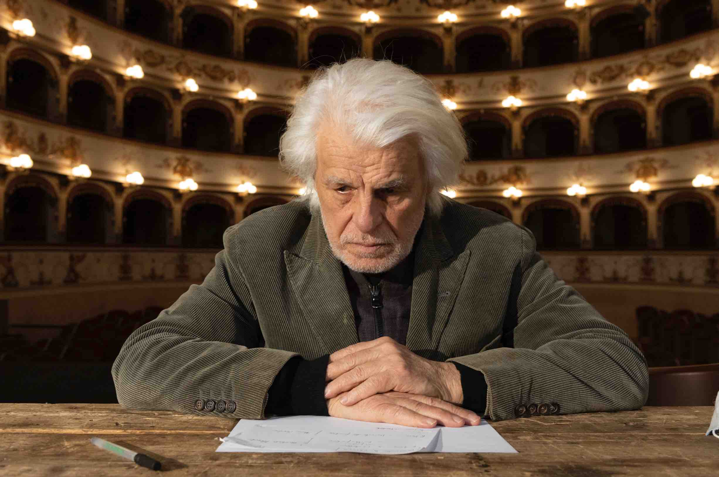 Michele Placido (foto di Marco Caselli Nirmal)