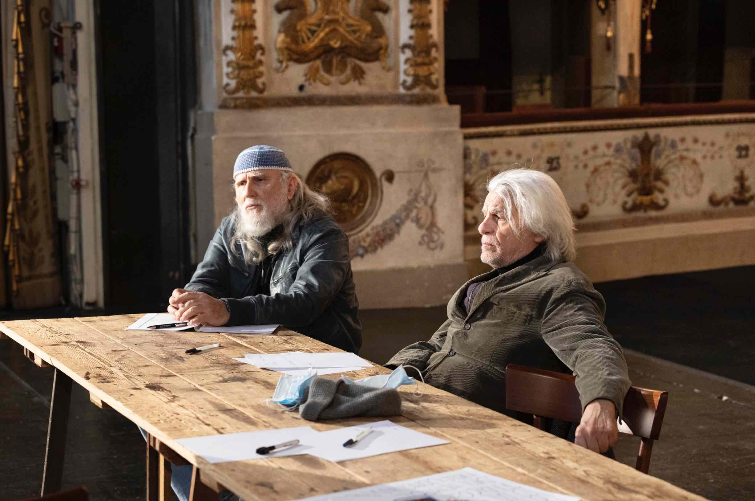 Moni Ovadia e Michele Placido (foto di Marco Caselli Nirmal)