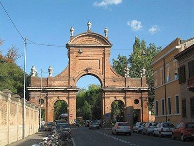 Prospettiva di corso della Giovecca a Ferrara