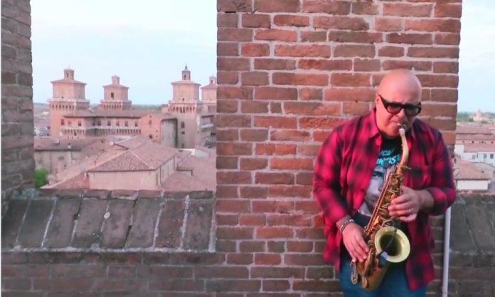 Il sassofonista Andrea Poltronieri